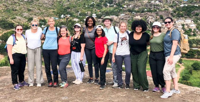 Eleven Mercer students and two faculty members went on the Mercer On Mission trip to Tanzania.