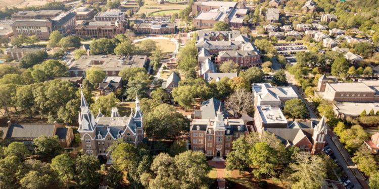 Macon campus aerial