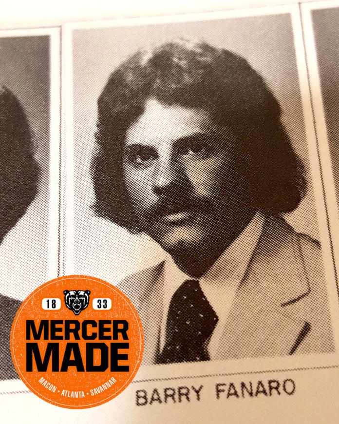 Yearbook photo of Barry Fanaro